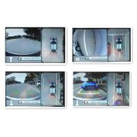 Around Bird View Car Reverse Camera System , Around View Monitor For Honda CRV, loop recording