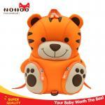 NOHOO neoprene tiger baby bag kids toddler backpack for camping  28*9*19cm