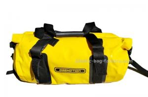 China 30L Bright Yellow Tarpaulin PVC Motorcycle Duffel Dry Bags / Waterproof Camping Bag on sale