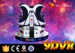 Sièges Motional électriques de la réalité virtuelle 3 des oeufs 9D du système 220V faits de fibre de verre