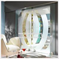 900x2050x8mm Clear/Barn interior sliding glass doors