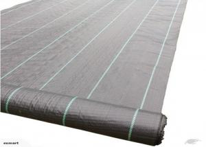 China 90gsm Black / White Weed Control Fabric Keep The Soil Moisture Available on sale