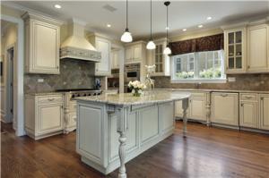 China White glazed American Standard kitchen cabinet on sale