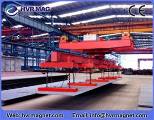 China HEPMP series electro permanent lifting magnet for lifting steel plate on sale