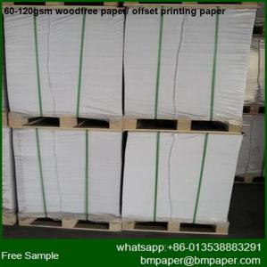 China White Offset Paper Bookmarks for Books Print for Free on sale