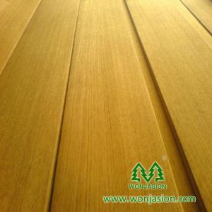 China Natural Golden Silk Teak Veneer, High Quality Wood Veneer forderation on sale