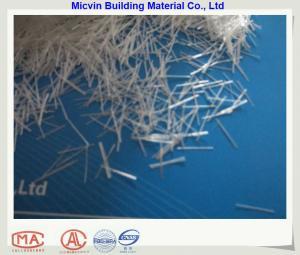 China fibre de verre de l'AR de brin coupée par 18mm on sale