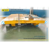 China Detachable Steel Electric Heavy Duty Plant Trailer / Rail Transfer Trolley on sale