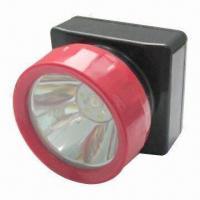 2012 New Cordless LED Miner Lamp/Headlight with 4,500 Lux Illumination
