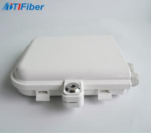China ABS Material Fiber Optic Terminal Box 8 Cores IP68 Waterproof Wall Mounted on sale