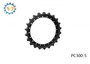 China PC300-5 Casting Drive Sprocket KOMATSU Excavator Undercarriage Parts on sale