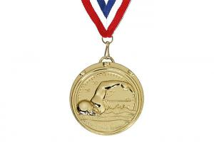 China Medal Factory Gold Plated Custom Made Metal Sports 3d Blank Award Medals on sale
