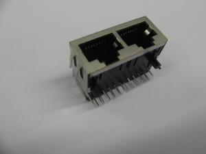 Quality Conector do porto RJ45 de 1000 BASE 1 x 2 com o filtro interno do LAN para o router industrial for sale