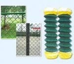 Maillon de chaîne clôturant la facilité d'armure ouverte en métal de la clôture de maillon de chaîne d'installation