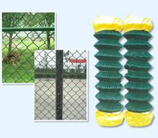 China Chain Link Fencing Metal Open weave Ease of installation Chain link Fencing on sale