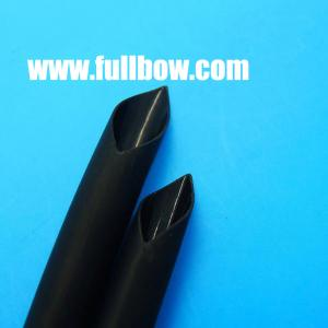 China Double wall 3:1 adhesive polyolefin heat shrink tube with black on sale