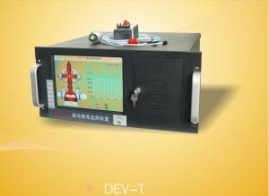 China DEV-T Multi Channel Vibration Speed Measuring Instrument With 10.4 LED Dispaly on sale