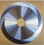 固体炭化物によってひっくり返される布の刃物、円形の回転式刃