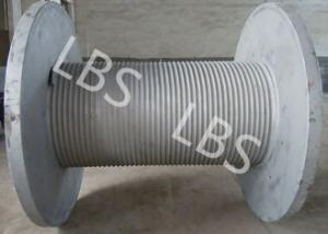 China Fast Speed Smooth Drum Winch Wire Rope Winch Drum 10 Ton 20 Ton on sale