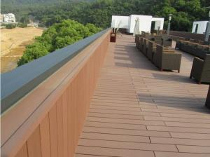 China decking wpc outdoor/composite decking on sale