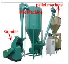 China high performance wood pellet production line on sale
