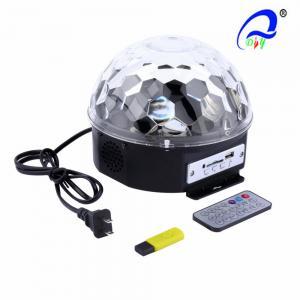 China VS-26BT LED 6*3W RGB Disco Ball Light Disco Ball Light , LED Magic Ball Bluetooth on sale
