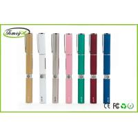 China Colorful Pen Style Ego W Electronic Cigarette With 2ml Cartomizer Wax Vaporizer on sale