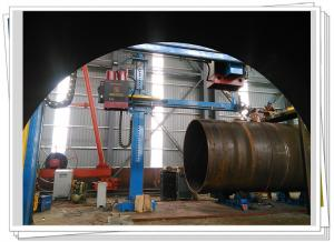 China Stationary Welding Column Boom With SAW System For Pipeline Outer Seam Welding on sale