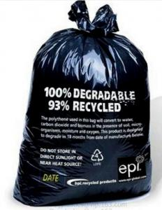 China Extra Thick 0.71 Mils, Food Scrap Small Kitchen Trash Bags, US BPI and Europe OK Compost Home Certified, San Francisco on sale