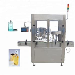 China Screw Capping Type Perfume Filling Machine 20ml - 200ml Filling Quantity on sale