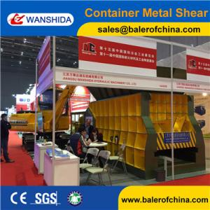 China China WANSHIDA Automatic Scrap Shear/Container Shear for propane tanks supplier