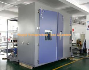 China IEC60068 Rapid Temperature Change Rate Test Chamber Simulated Environmental test on sale