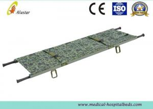 China Military Canvas Stretcher Emergency Folding Stretcher Waterproof Rescue Stretcher ALS-SA105 on sale