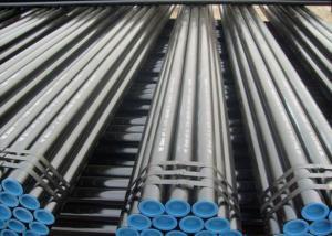 China DIN 1629 Aluminum Welded Steel Tube ST37.0 / ST44.0 , Straight Seam Steel Pipe on sale