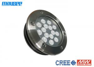 China RGB Submersible Led Pond Lights Costant Current Led Pool Lighting on sale