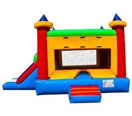 China 3 in 1 Attractive Inflatable Combo Bouncers YHCB-011 with EN14960 Certifiates fo Children on sale