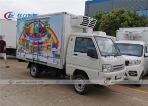 China 1000kg 90 Km/H Refrigerator Van Truck Ice Cream Delivery on sale