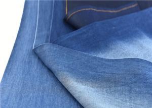 China Anti - Static Stretch Denim Fabric With Oeko - Tex Standard 100 Roll Packing on sale