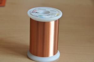 China 0.012-0.8mm Super Fine Ultra Thin Copper Wire Solderable NEMA Standard Motor Winding on sale