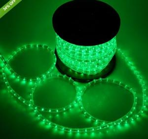 China outdoor led strip lights 2 wire christmas decorative led rope light on sale