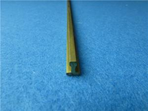 China Brass Extrusion T Bar Pulls Design Copper T Slot Flat Bar Online on sale
