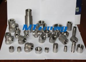 China F317L / 316L Forged High Pressure Pipe Fittings With Socket Welded on sale