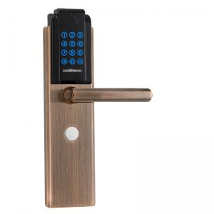 China Modern Hotel / House Security Electronic Door Lock Digital Card Password Open on sale