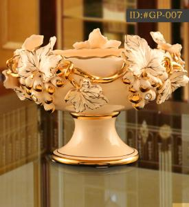 China L-D European style  ceramic  fruit tray ID:#GP-007 on sale