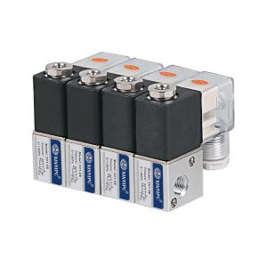 China 2 Units - 20 Units Pneumatic Solenoid Valve 3 / 2 Way Without Manifold on sale