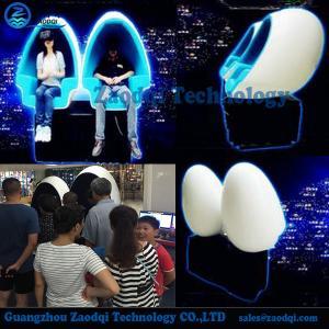 China Amusement machine Electric motion platform low cost big profit 9d vr egg cinema on sale