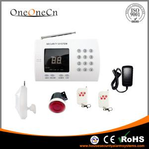 China Home Security PSTN Burglar Alarm System Smart With Auto dialer on sale