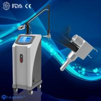 Glass Pipe Fractional CO2 Laser For Acne Scars Treatment , Burn Debridement(NBW-FI)