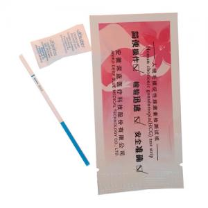 China High Standard HCG Pregnancy Test Strip for Home Use on sale
