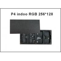 China P4 indoor LED display module 1/16 scan 256*128mm 64*32 pixel  p4 RGB led video display on sale